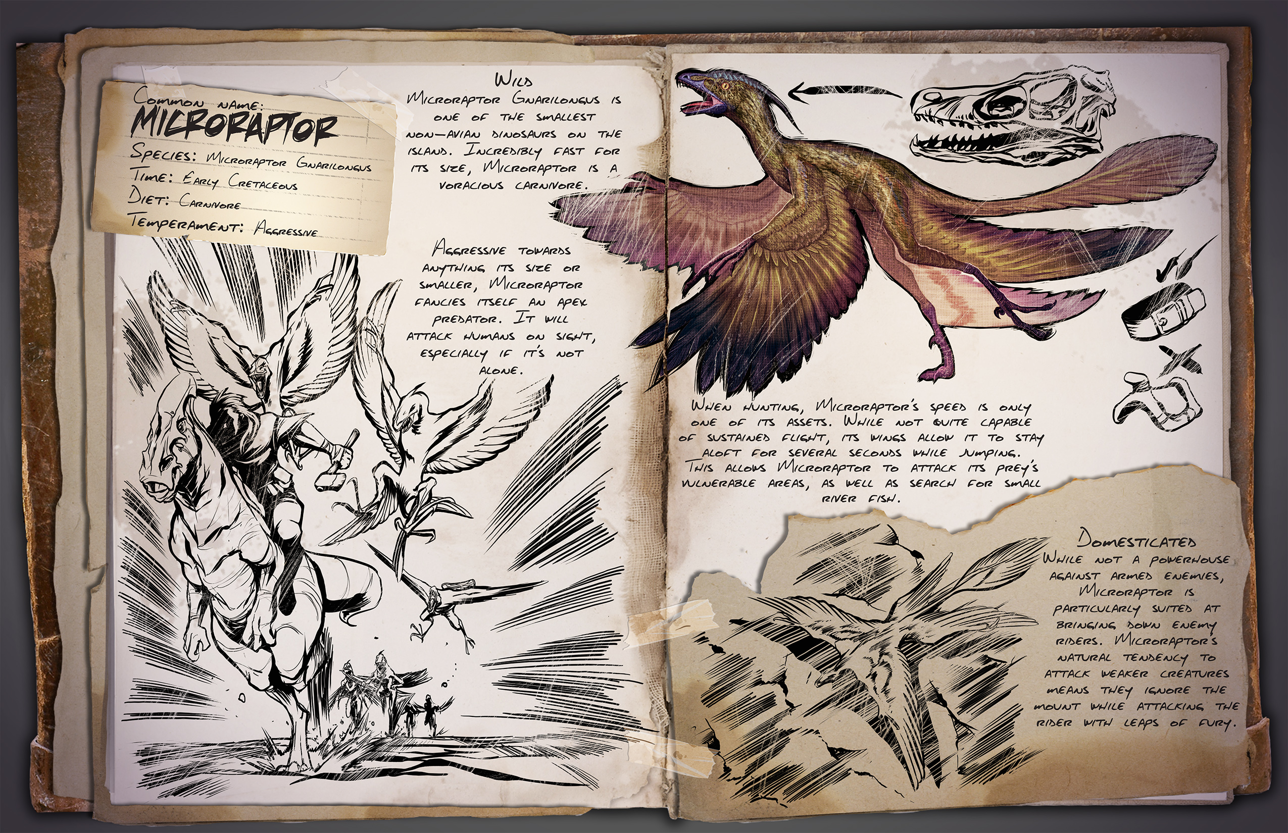 Ark survival evolved patch notes - A New Dino Dossier Has Been Revealed This One Is Everyone S Favorite Small And Speedy Carnivore The Microraptor